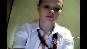 Russian Cute Teen Masturbating On Webcam - gspotcam.com
