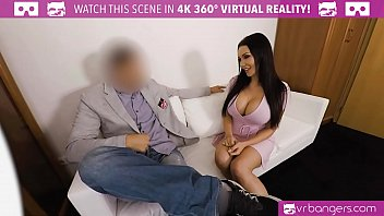 VRBangers.com Busty Patty Michova Casting couch get wild