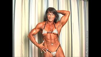 Claudia Partenza Huge Bulging Ripped Muscle