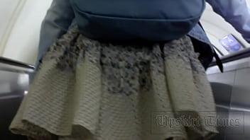 Forced Upskirt