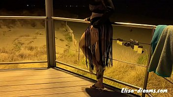 Bukkake with voyeurs by night in Cap d'Agde