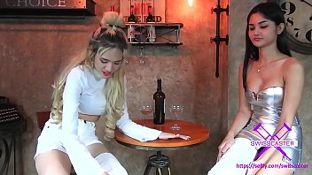 Fetish-Concept.com - 2 Girls with Long Cast Legs in Restaurant (LCL)