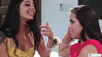 The sexy girl in the world - Alina lopez - two lesbian scene in one feat. gina valentina and eliza ibarra