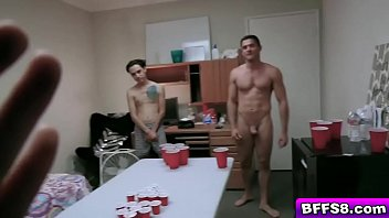 These babes suck the studs cocks before getting their pussies eaten out on the bed