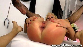 Nika porn star - Nika star rides cock during atm action