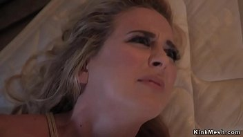 Abducted huge tits blonde bdsm fucked