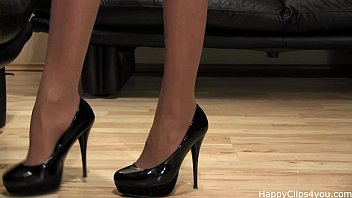 Goddess milf shoe fetish high heels video