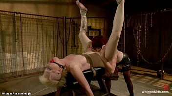 Mistress Whip And Torment Blonde Slave