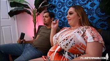 Big Tit MILF BBW April M Gets Oiled and Fucked By Huge Cock
