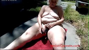 Granny having a lot of fun