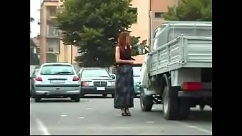 Amateur milf wife exhibitionist on the street 2