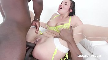 Vanessa Vaughn comes back to drink african champagne IV373