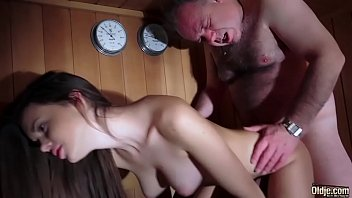 Dad Fucked Beautiful Virgin Young Pussy Gives Blowjob and Swallows the Cum porn image