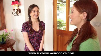 TeensLoveBlackCocks - Cute Redhead Rides Big Black Cock