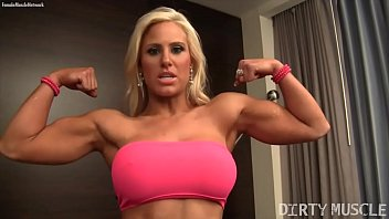 Body builder free naked picture woman Muscle barbie megan avalon is a sexy hotel room tease