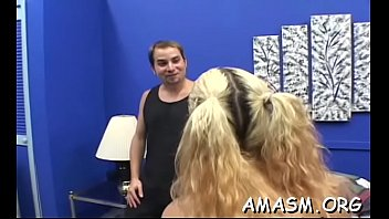 Naked females domination on fellow in hot smothering video