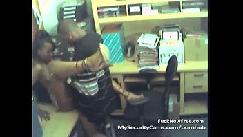 Black Couple Fuck At Work Caught On Cam