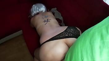 Homemade anal sex with a big ass