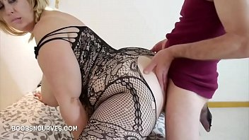 Ass fucked her hole in