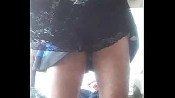 Cum in dirty panty