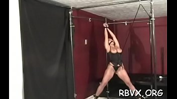 Move sex woman Frisky babe cant move as large guy stimulates her constricted pussy