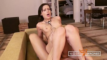 After giving head, Amel Annoga gets her tight ass pipe stuffed with dick! wolfwagner.com