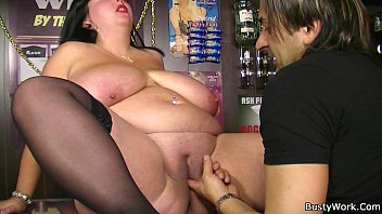 Big fat women sex Fat barmaid getting fucked at work