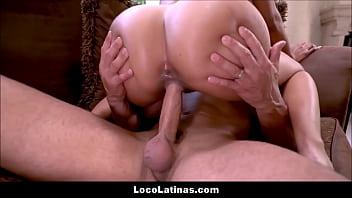 Sexy Big Juicy Ass Latina Canela Skin Fucked By Big Cock Latino Guy