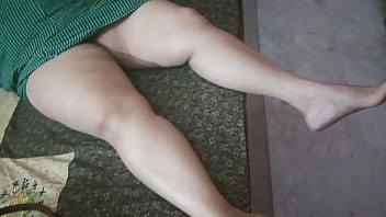 Bengali House Wife with Thunder thigh milky skin