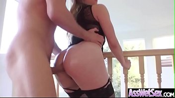 (Dahlia Sky) Slut Girl With Big Ass Love Hard Anal Sex Action clip-20