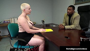 Hot Buzz Cut Beauty Riley Nixon Busts Black Nut Rome Major!