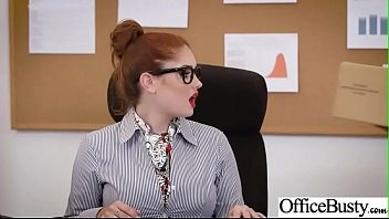 Busty Office Girl (Lennox Luxe) Get Hardcore Action Bang vid-20