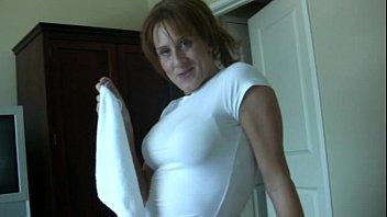 Older housekeeping MILF busts you jacking off pervert!