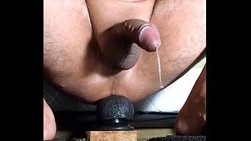 Rambone ride and cum, to the balls