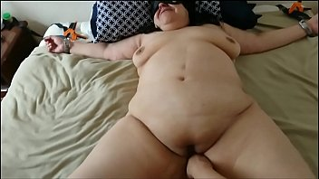 My Submissive BBW Whore Tied, Fingered and Fucked