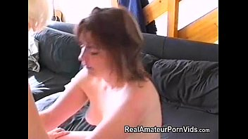 Wives first time lesbian sex porn - Nervous housewifes first lesbian encounter