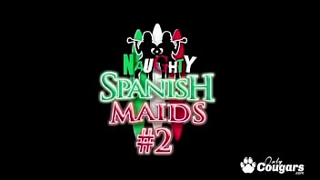 Spanish Maids Valentina Blue & Cathy Heaven Have Anal