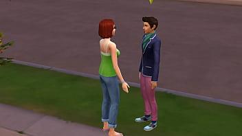 The Sims 4 CHAMANDO A VIZINHA PARA O SEXO ANAL Thumb