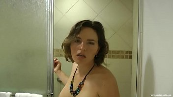 In vid shower on girl in Walks