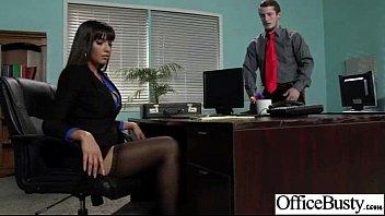 Hardcore Sex Scene In Office With Slut Naughty Busty Girl (mercedes carrera) clip-25