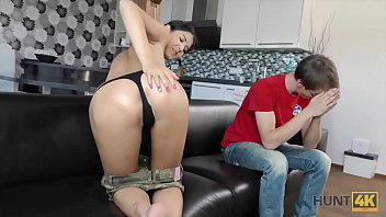 Summer vacation with teen Hunt4k. babe wants to go to vacation so agrees for sex for money