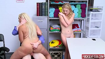 Mom bottoms Kylie kingston, natalie knight fucked by officer for stealing good