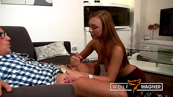 Teen girl Morgan Rodriguez enjoys some older cock meat for her twat! wolfwagner.com