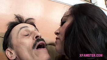 Great amateur Whore Stepsister get ravished deep in hole deep after giving tasty blowjob