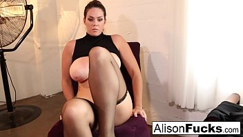 Busty Cop gets hypnotized by a pervy Alison Tyler