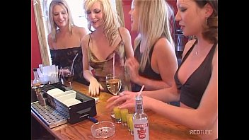 Girls out in a bar  Redtube