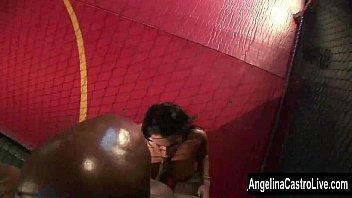 Angelina Castro BBC Cage Showdown!