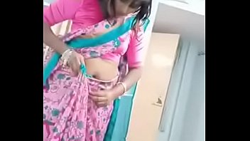 Swathi naidu getting ready for short film shooting