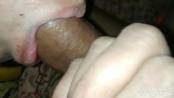 My cock in sister's mouth all night.