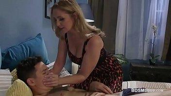 Julia Ann Dominates Over Horny Guy